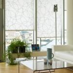 Rullegardin 5161 Abstracta hvid